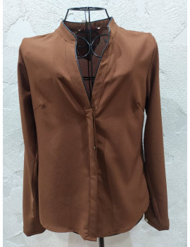 Camicia marrone - Blugayà