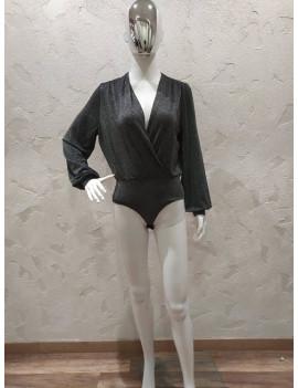Camicia lurex a body - To Lu