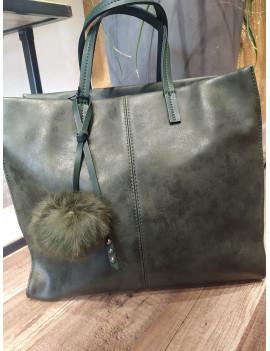 Shopper con pompom - Tommasini