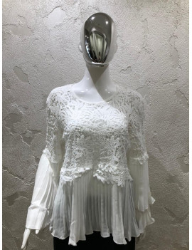 Blusa in pizzo - Luza Belle...