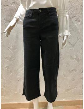 Jeans nero con frange - Nexos