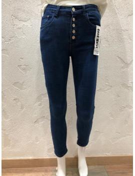 Jeans skinny vita alta -...