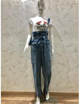 Salopette di Jeans - Monday