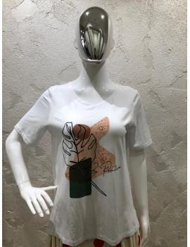"T-shirt ""Be Positive"" -..."